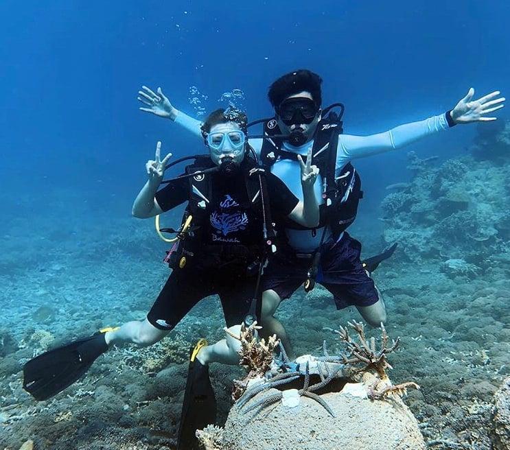 Bawah Anambas Foundation Coral Transplantation