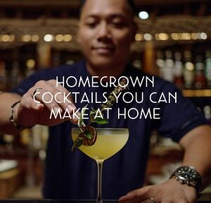 Homemade Cocktails Blog Hero