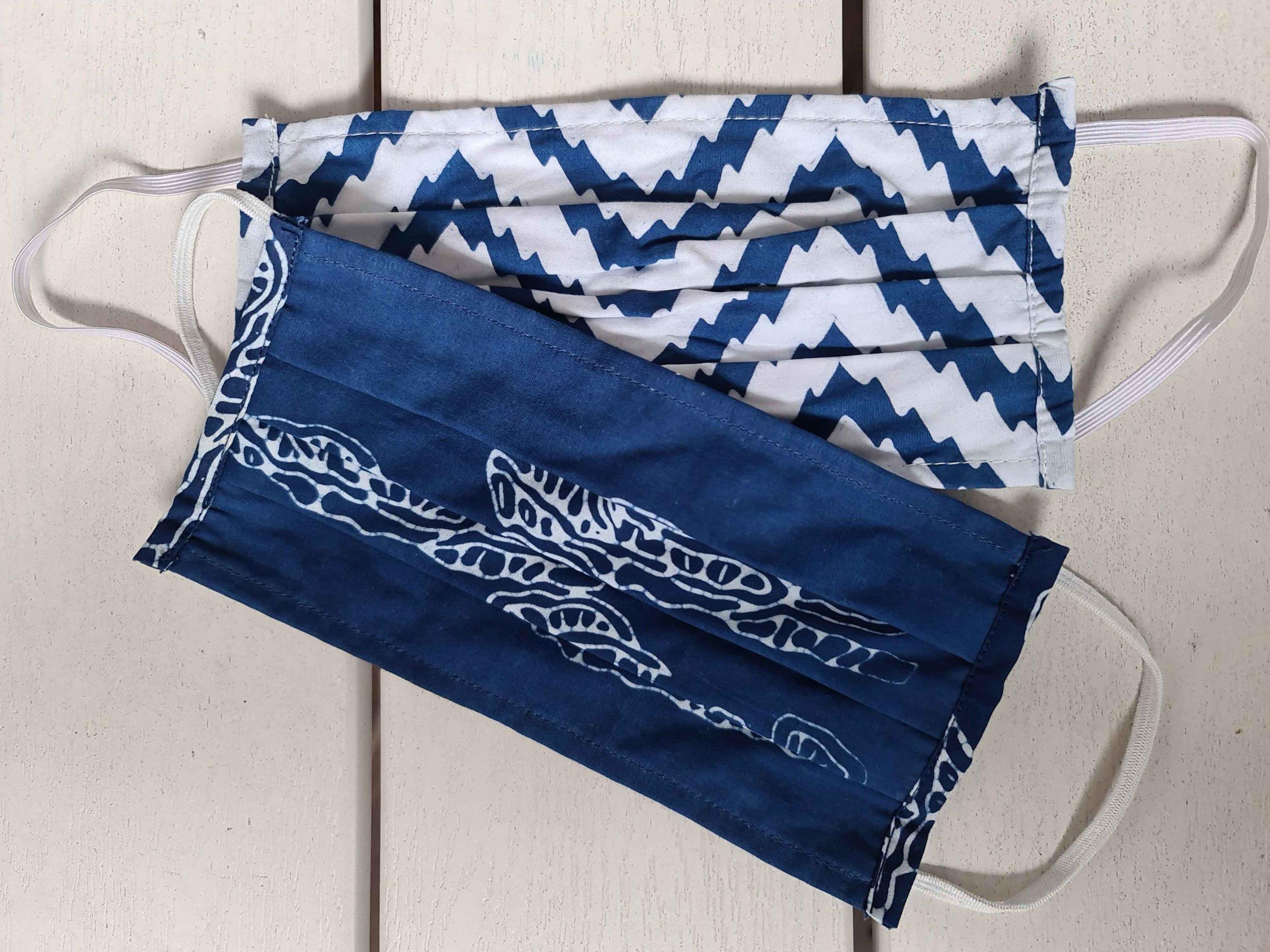 face-masks-blue-batik-scaled