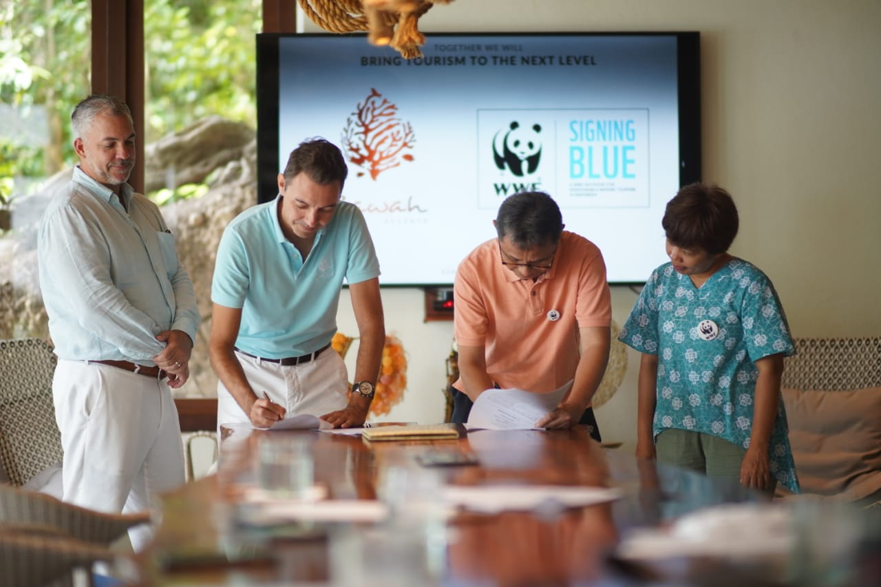 WWF Indonesia Blue Signing
