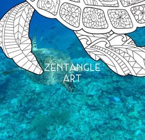Zentangle Art Blog Hero
