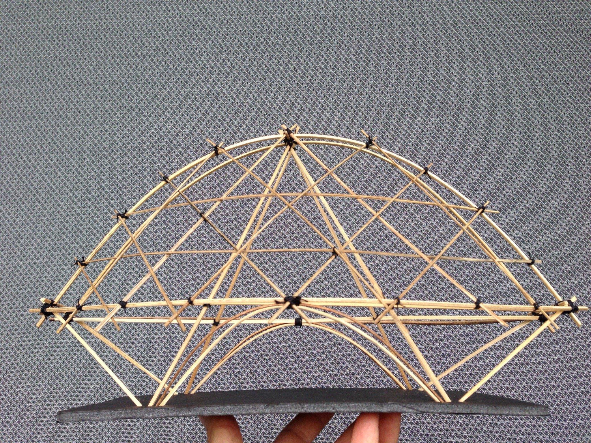 public building structure_scale model 1