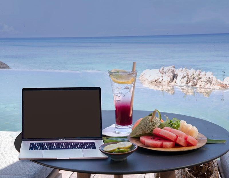 workcation-table-elang-fruit-drink-laptop-pool-800px-2