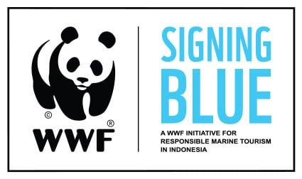 wwf Signing Blue